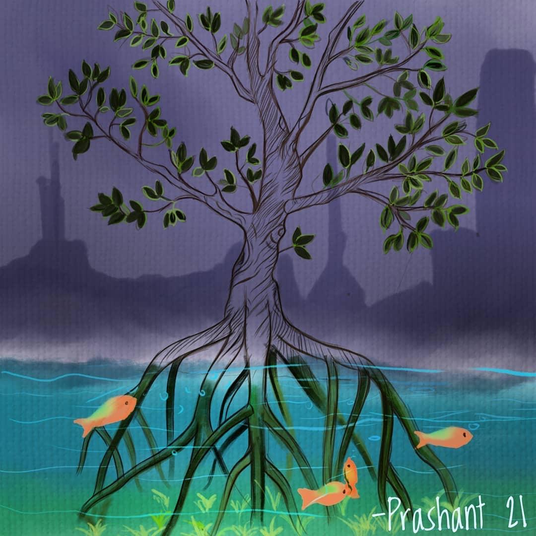 MangroveArtist_PrashantShrivastava
